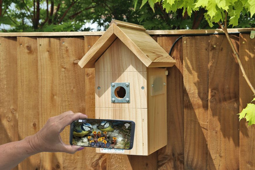 Ip camera bird box systempitched roof10m in 2020 ip