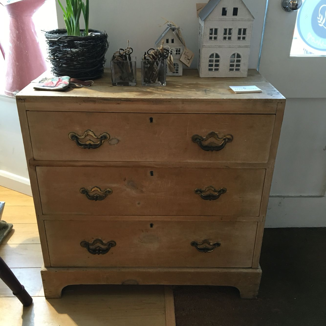 buy popular c34d3 e70a6 Antique pine preloved chest of drawers. | Preloved furniture ...
