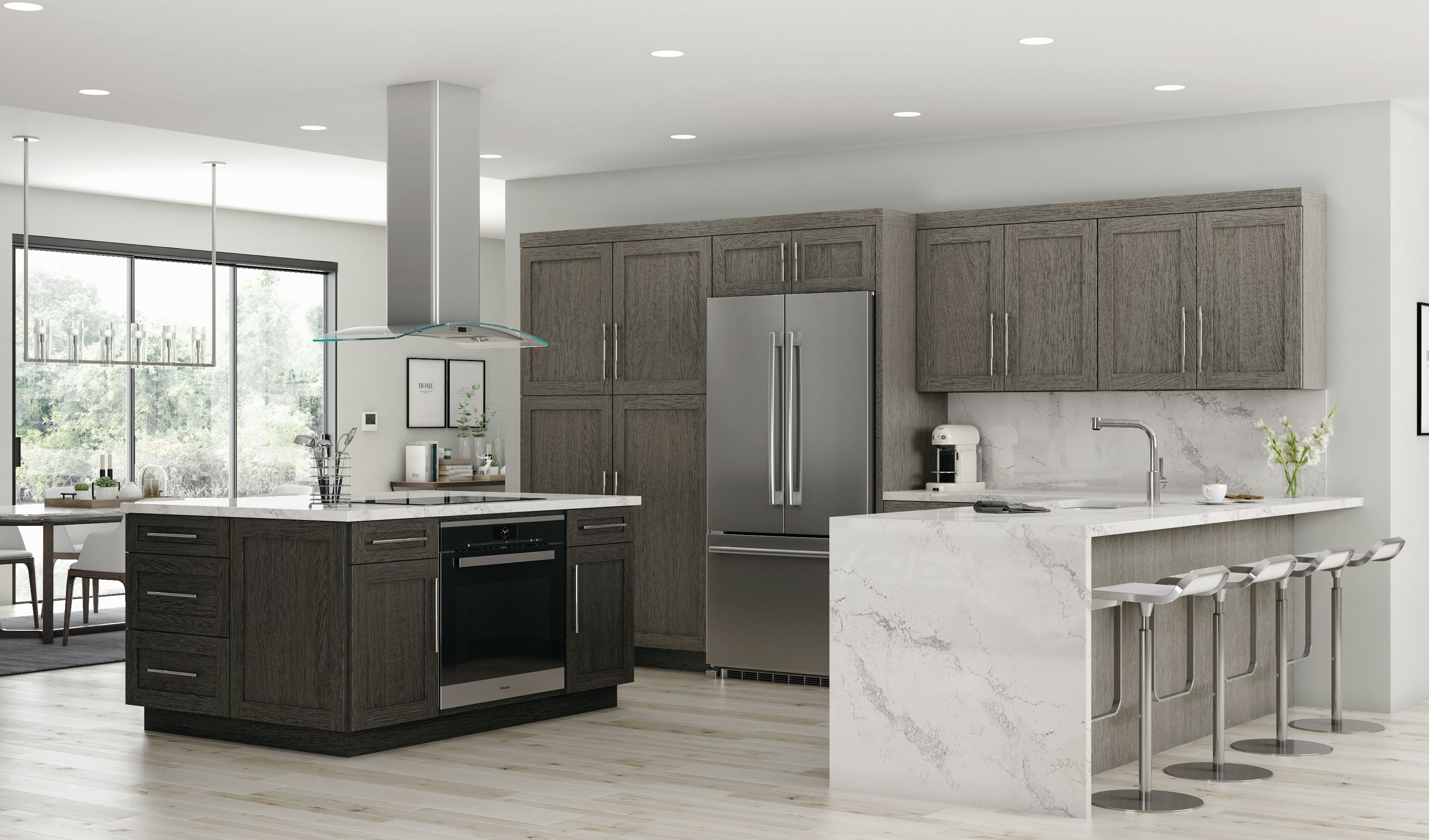 Oxford Is A Sophisticated Classic Shaker Door Style Available On Our Classic Series Affordable Kitchen Cabinets Online Kitchen Cabinets Kitchen Remodel Small