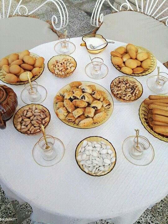 Pics That I Collect From Iraqi Pages The Traditional Iraqi Date Kleicha صور جمعتها من البيحات العراقيه كليجه التمر العراقيه Table Settings Table
