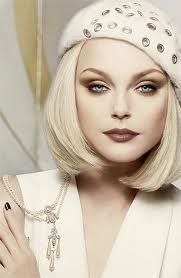Jessica Stam has the most amazing eyes to make up.