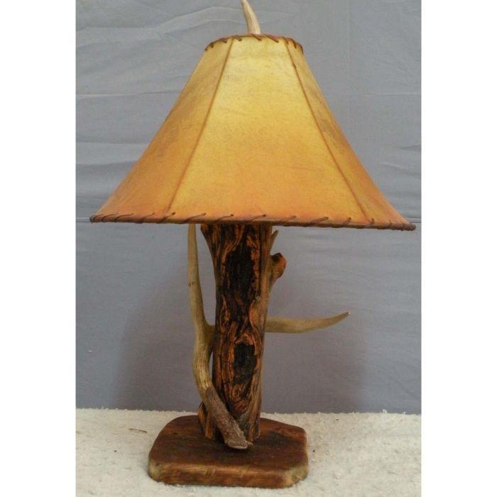 Hidalgo - Aspen Log & Antler Table Lamp | Antler lights ...