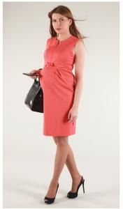 6885ef0aa2 Elegancka sukienka ciążowa i do karmienia LAURA M