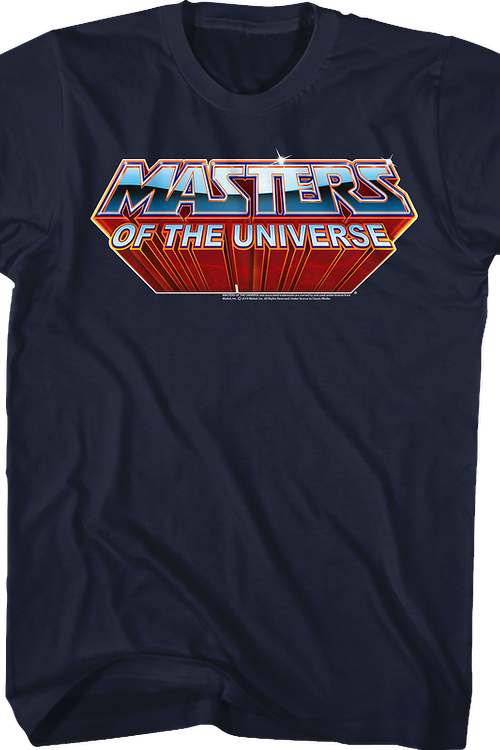Classic Logo Masters Of The Universe T Shirt In 2020 Classic Logo Masters Of The Universe Shirts