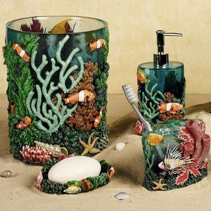 Tropical Fish Bathroom Accessories