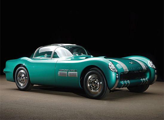Classic Car: 1954 Pontiac Bonneville Special | Inspiration Grid