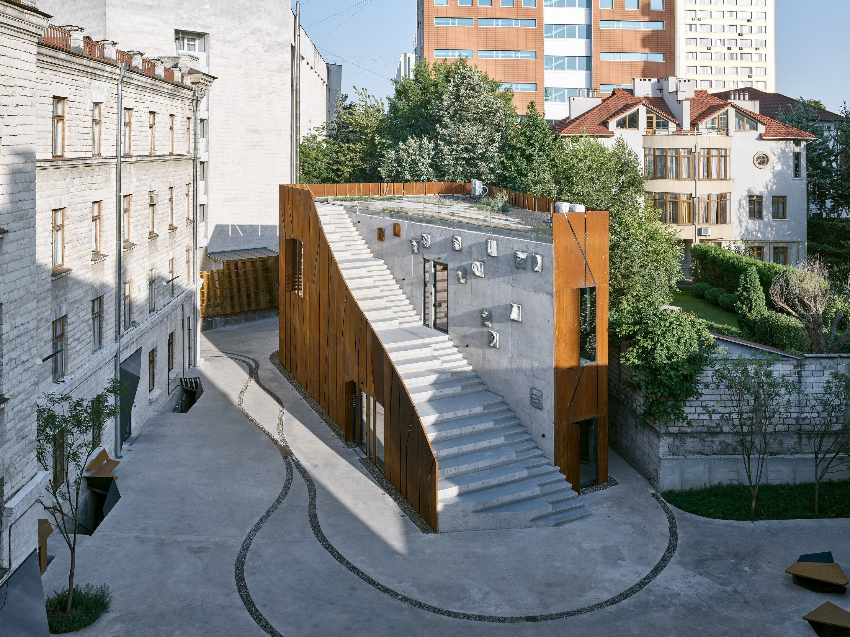 ARTCOR Creative Center Picture gallery Архитектура