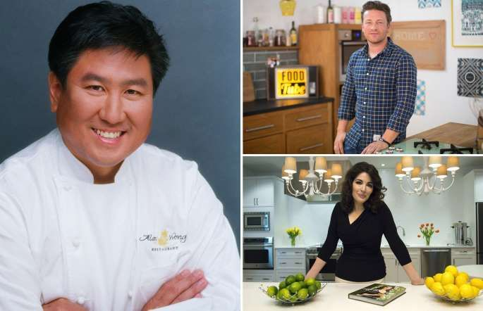 Richest Chefs In The World Mary Ann Changg Ap Simon Dawson Bloomberg Canadian Press Rex Features With Images Celebrity Chefs Chef