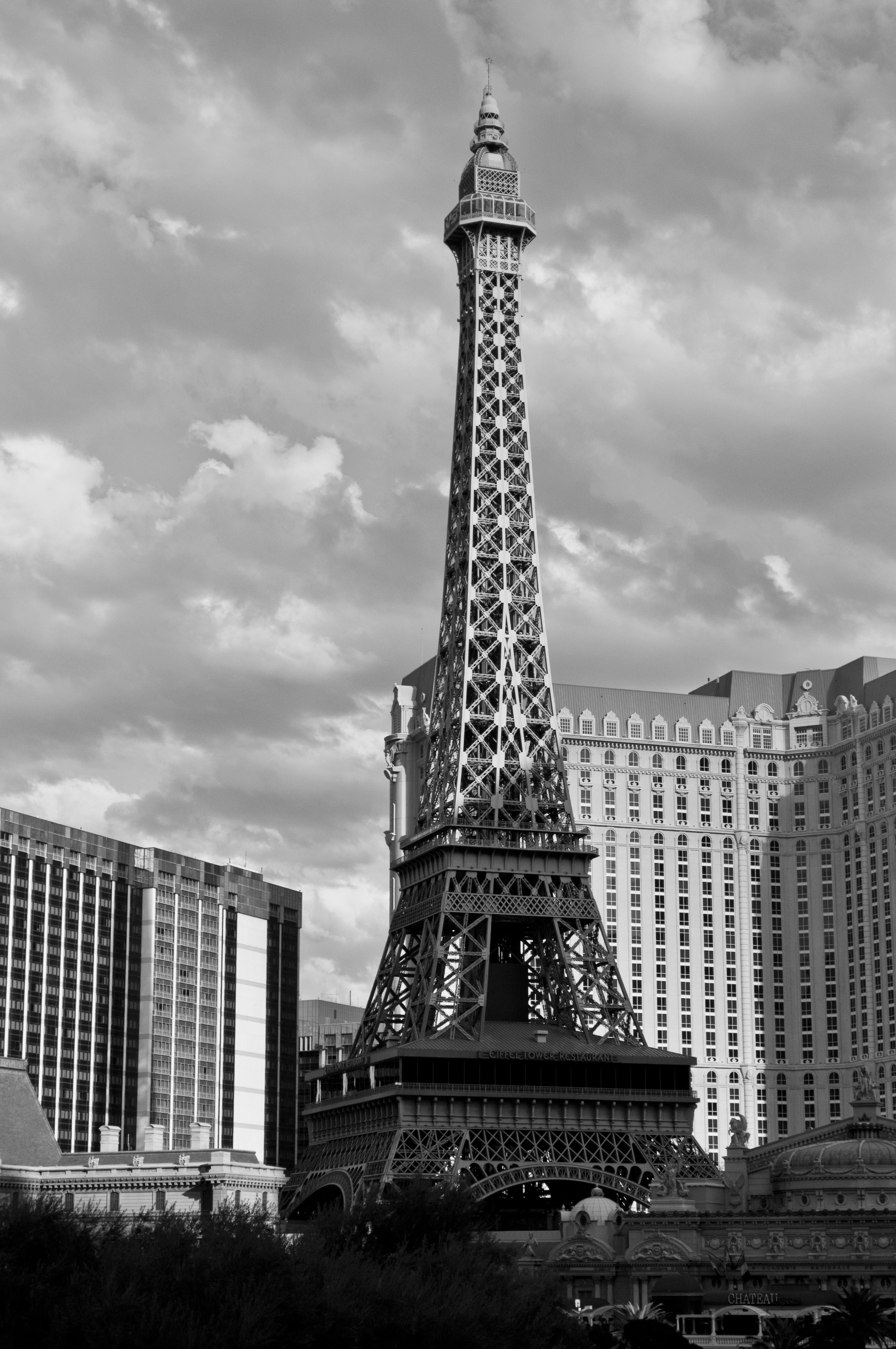 A photograph of the Eiffel Tower in Las Vegas. To purchase please go to http://memoriesoflove.imagekind.com