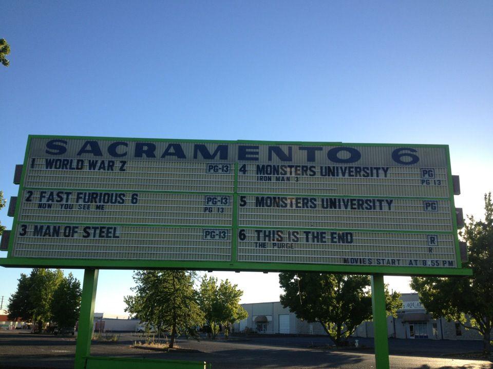 West Wind Sacramento 6 Drive In Sacramento Wind Monster University