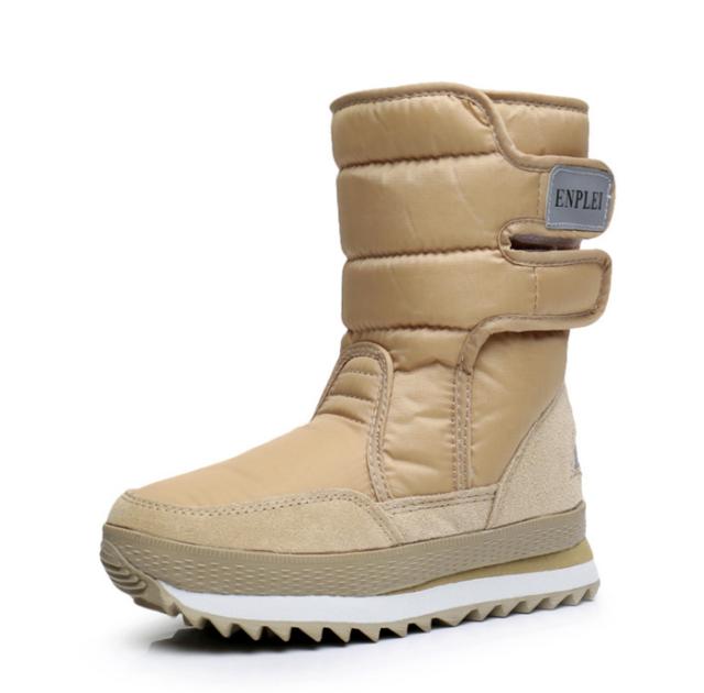 57997d932 LFFZ 2018 NEW Warm Solid Anti-Slip Snow Boots Women Waterproof ...