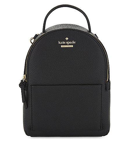 KATE SPADE Jackson Street Merry mini leather backpack.  katespade  bags   leather  backpacks   06d58945115da