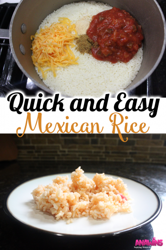 The easiest and quickest Mexican recipe you'll ever make!