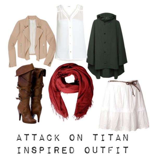 Attack On Titan Outfit Mikasa Ackerman By Kittykitkit102