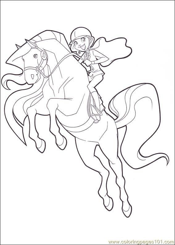 Horseland 10 Coloring Page Free Horseland Coloring Pages Coloring Books Coloring Pages Horse Coloring Pages