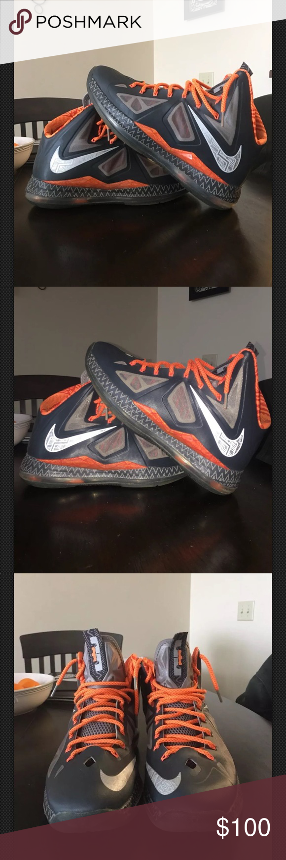 official photos 115bf f5810 Nike Lebron 10 X BHM (Black History Month) Worn a couple times still in
