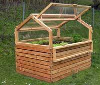 Kleines Hochbeet Mit Fruhbeet Fruhbeetaufsatz Von Gartenfrosch Hochbeet Garten Hochbeet Gewachshaus Selber Bauen