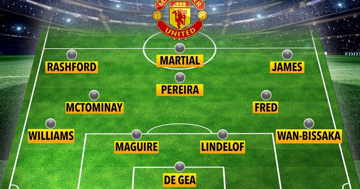 How Man Utd Will Line Up Against Aston Villa With Mctominay Man Utd Team News Predicted 4 3 3 Line In 2020 Manchester United Line Up Manchester United Newcastle Team