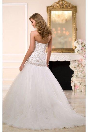 Stella York Drop Waist Wedding Dress Style 6049 By Ella Bridals Por Designers