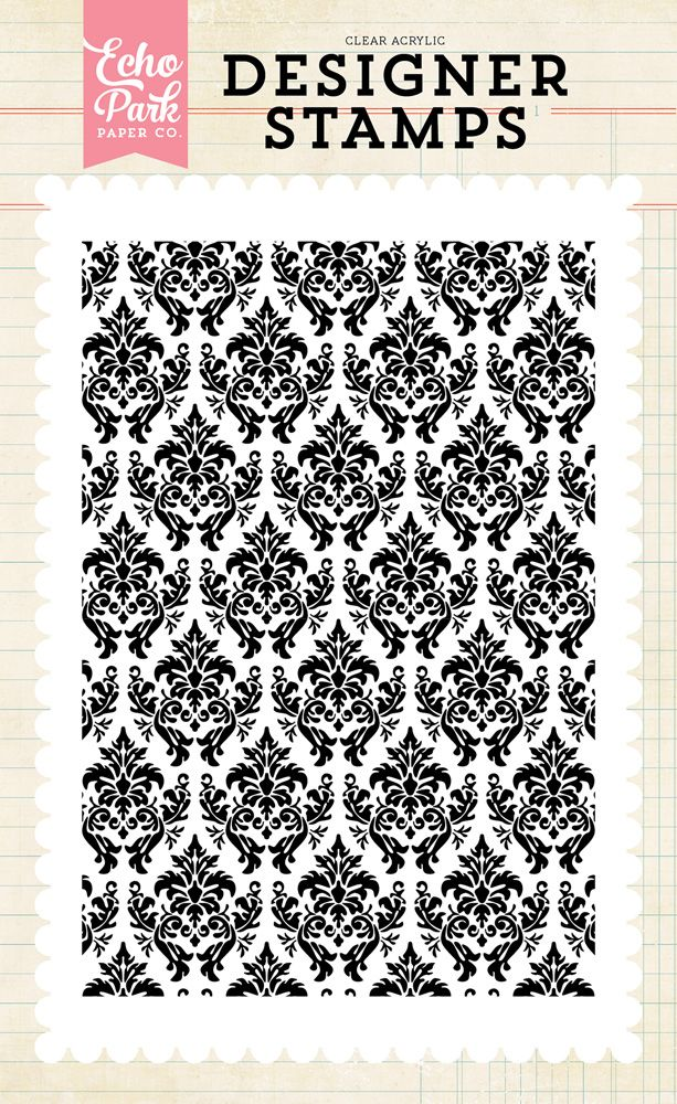 EPSTAMP103 Darling Damask Stamp
