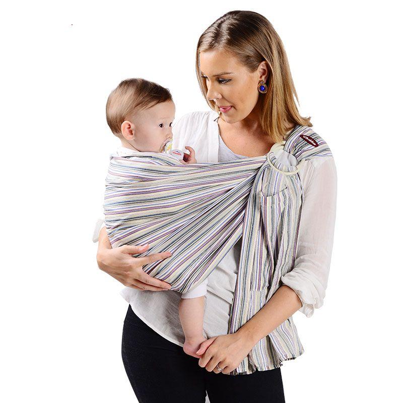 Vrbabies Nouveau Enfant Porteur Confortable Respirant Écharpe Porte - Porte bébé kangourou