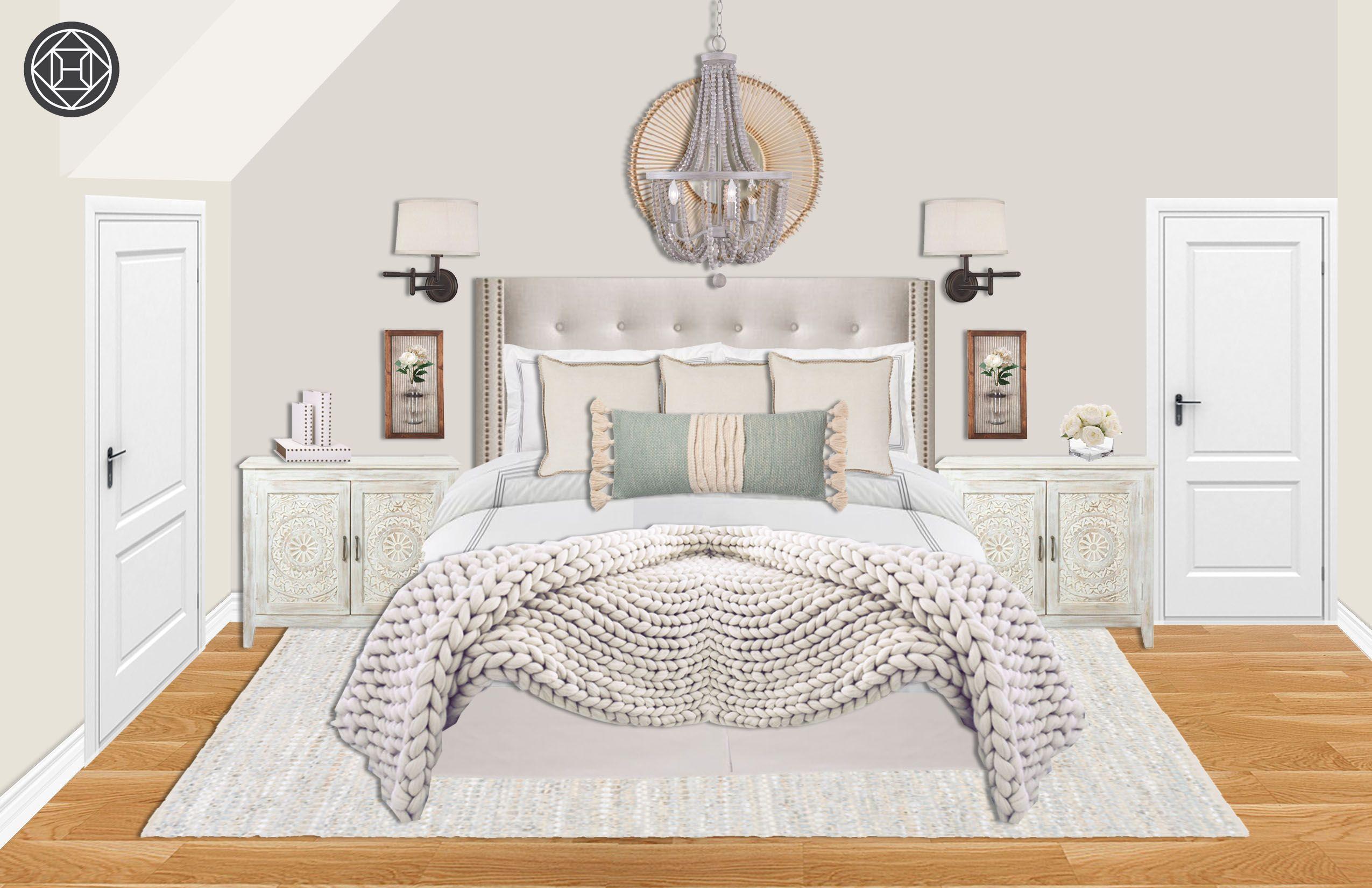 bohemian coastal scandinavian bedroom designhavenly