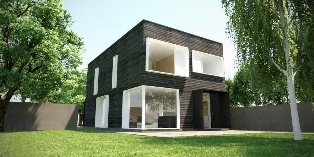 Infill Prefab House By John Gavin Dwyer Architect
