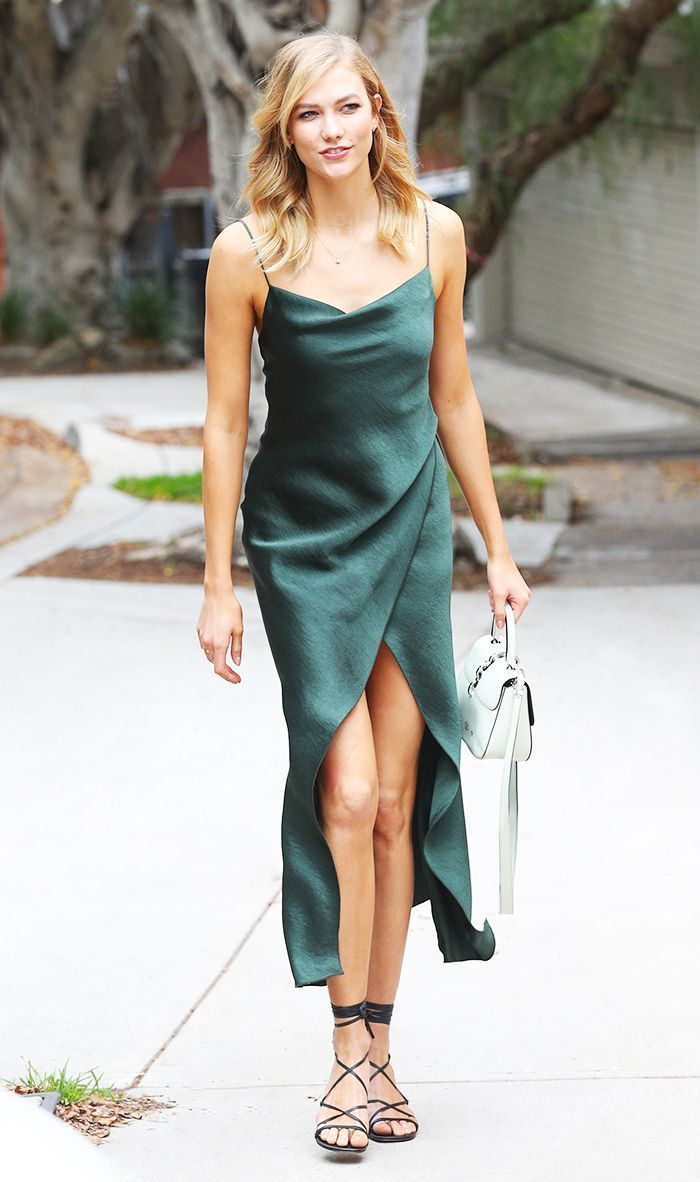 Emerald green dress for wedding  The One Dress That Looks Good on Literally Everyone  Wrap dresses