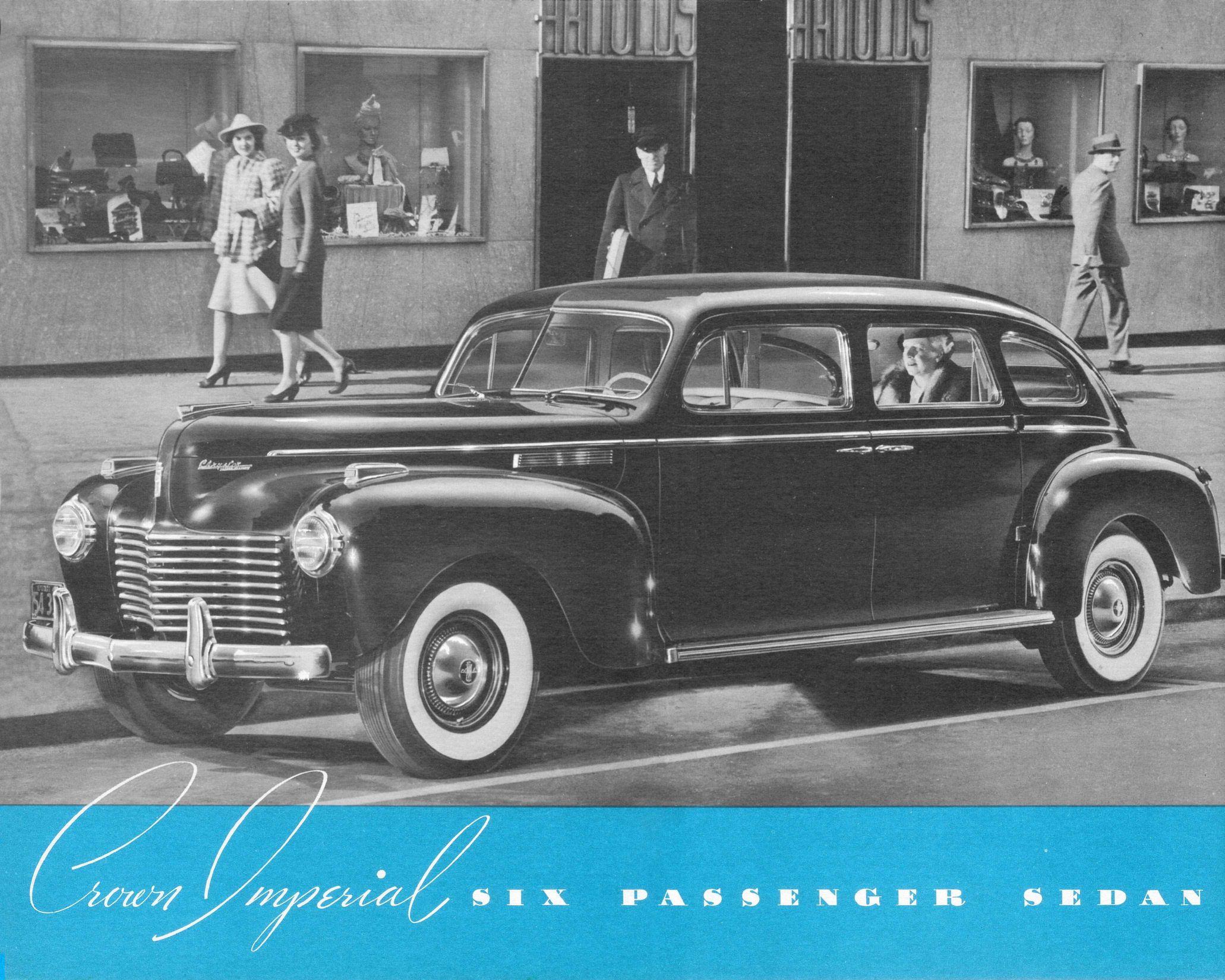 1940 Chrysler Crown Imperial Six Passenger Sedan