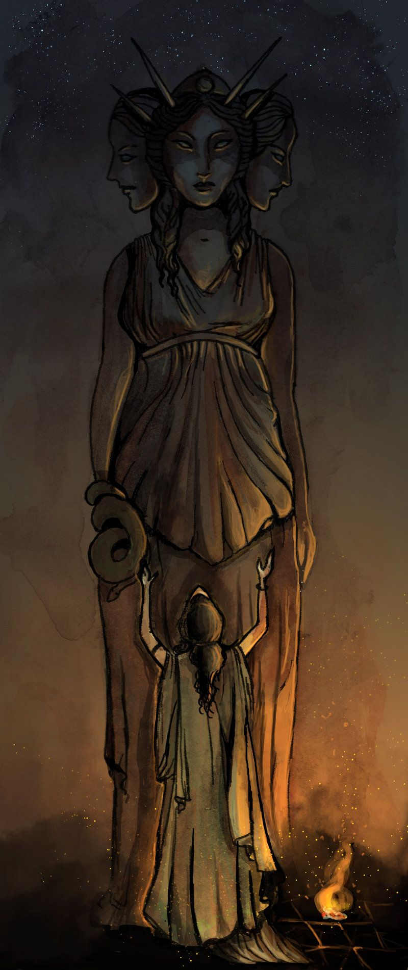 Priestess Of Hecate Hecate Goddess Hekate Hecate