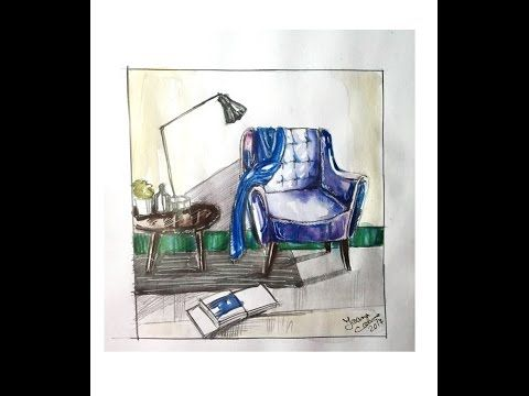 Drawing a Scene from Goblin | Ioana Cotuna - YouTube