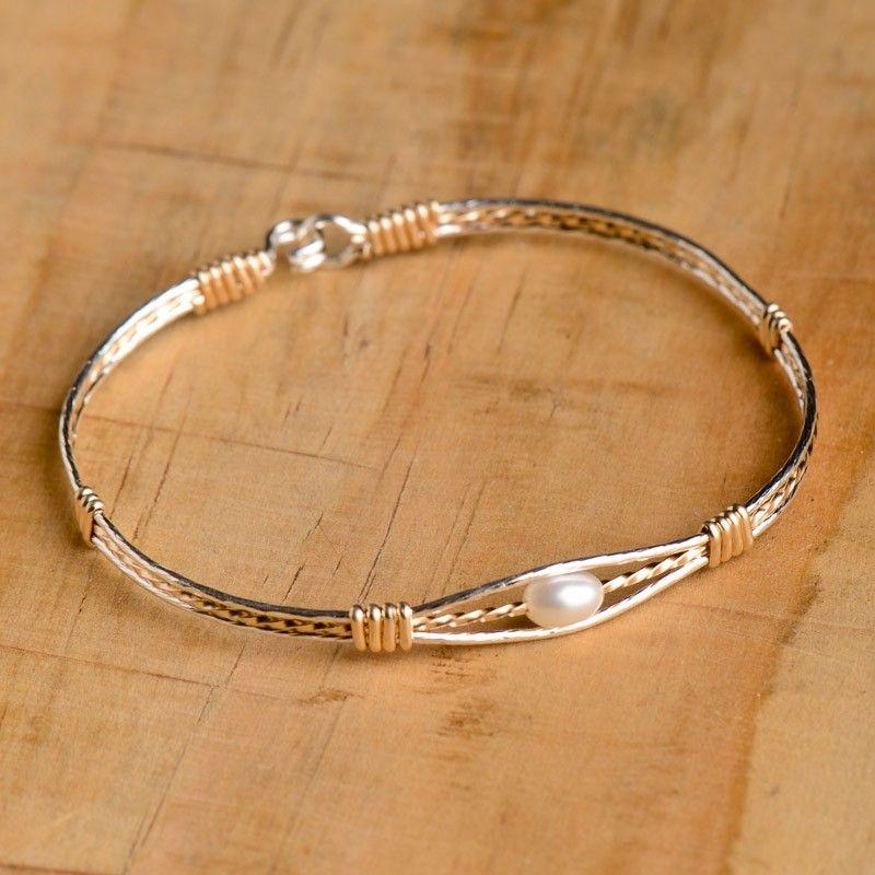 Guardian Angel Pearl Bracelet