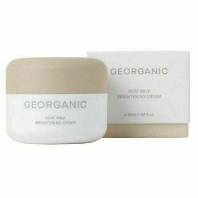 (Advertisement) Georganic Goat Milk Brightening Cream 1.52 fl oz (0706)