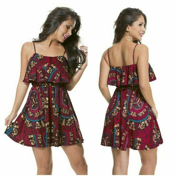 8816c48ff 25 Vestidos campesinos super frescos y femeninos! | Vestidos Glam ...
