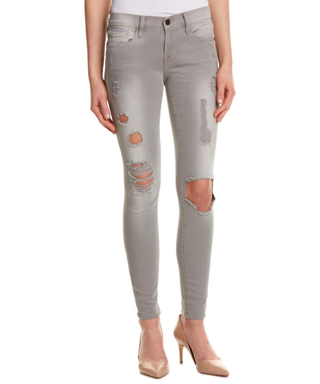 FRAME Frame Denim Le Skinny De Jeanne Harding Distressed Skinny Leg'. #frame #cloth #skinny