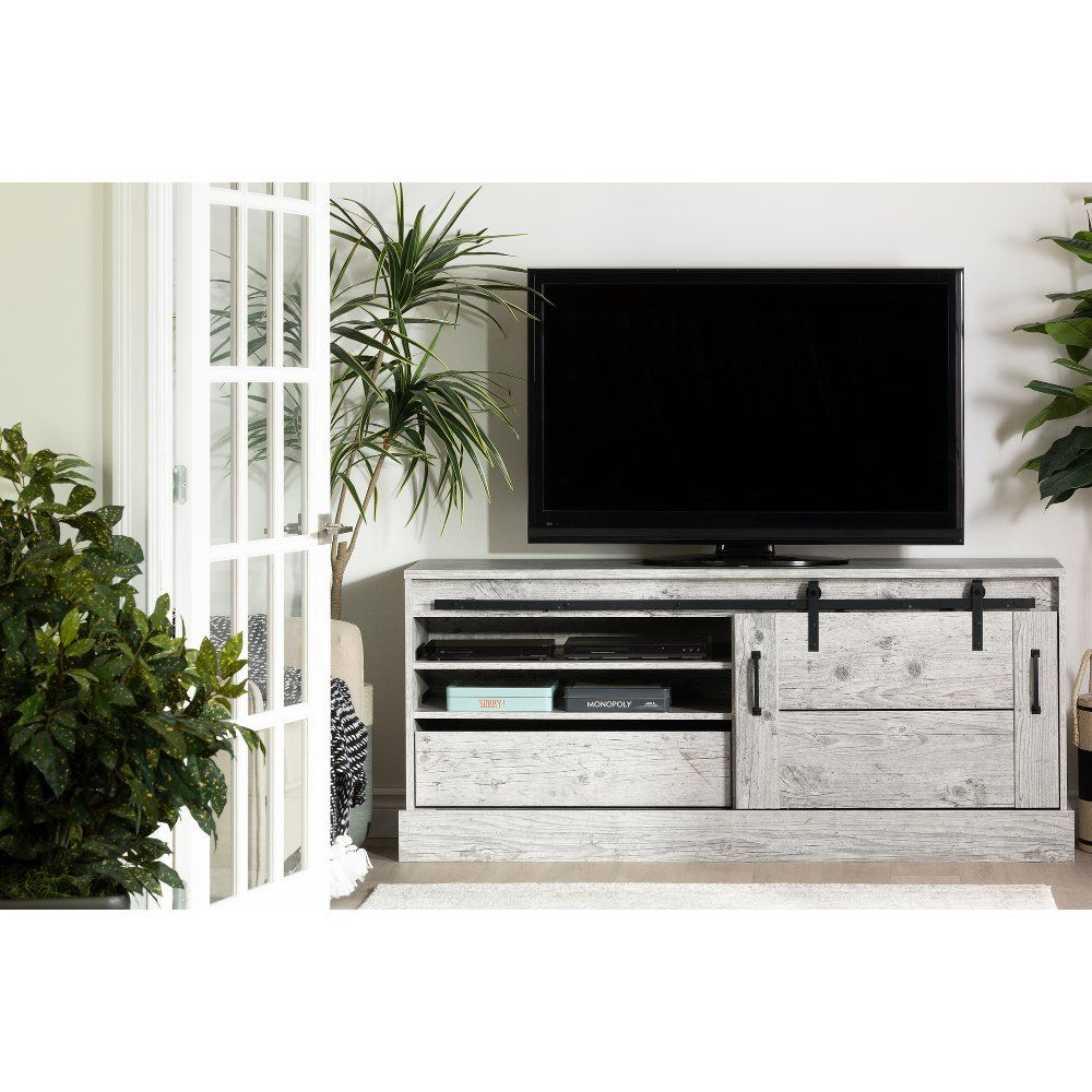 65 Inch Seaside Pine Tv Stand Harma Cheap Living Rooms Diy Entertainment Diy Entertainment Center