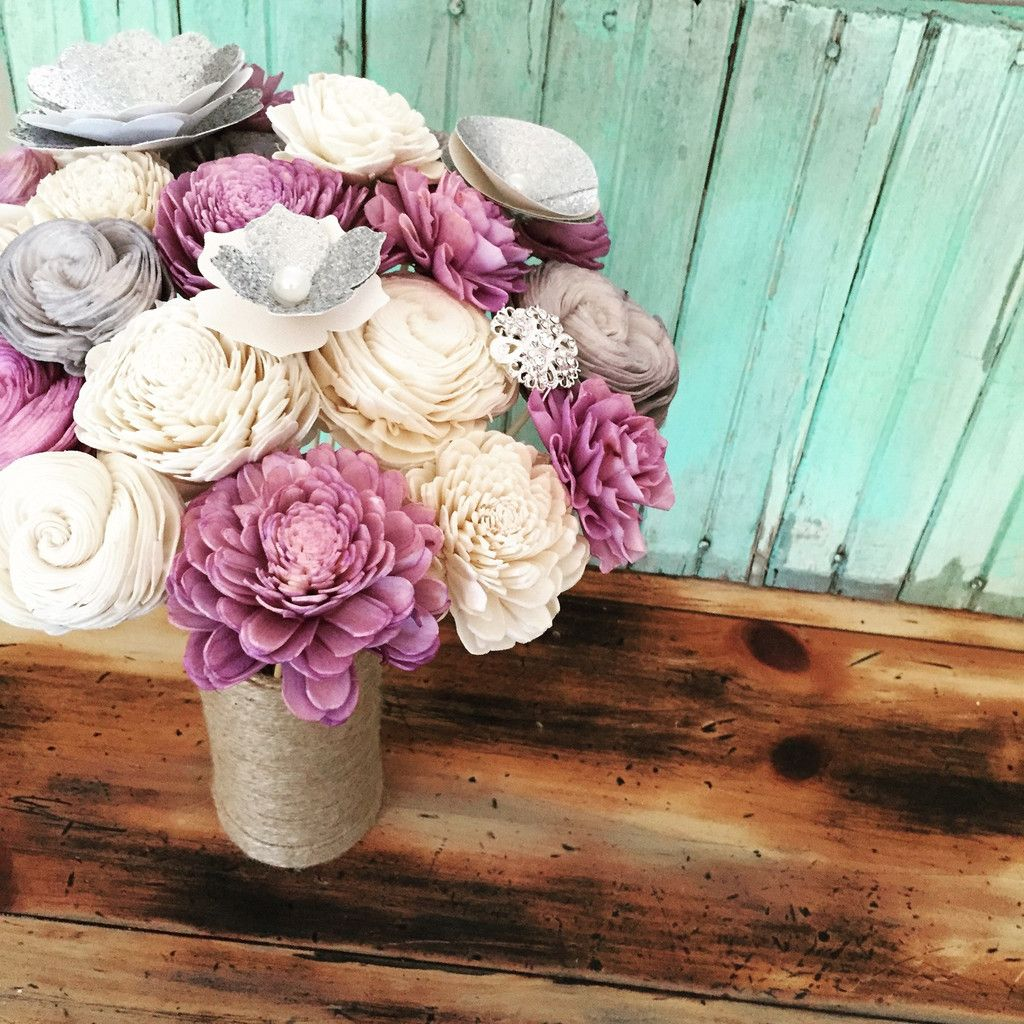 and affordable wooden flower bouquets! Eco