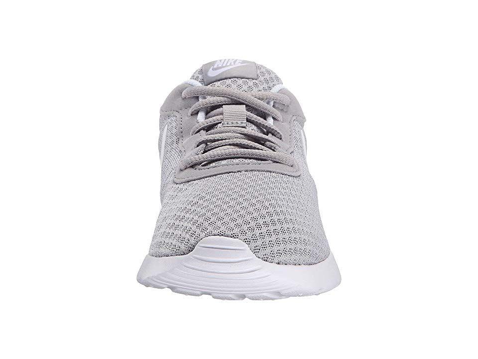 online retailer 43c45 5ca69 Nike Tanjun Women s Running Shoes Wolf Grey White