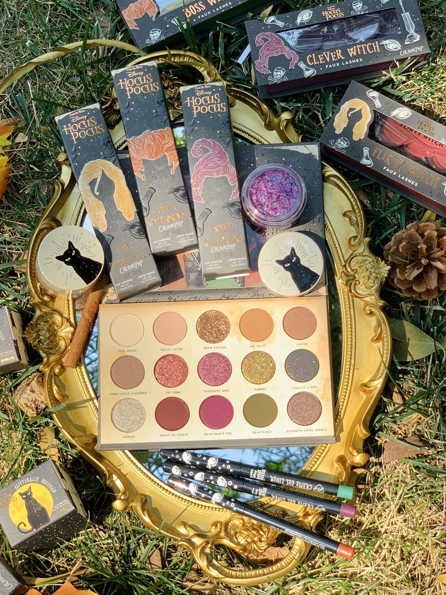 The Disney Hocus Pocus and ColourPop Collection is coming