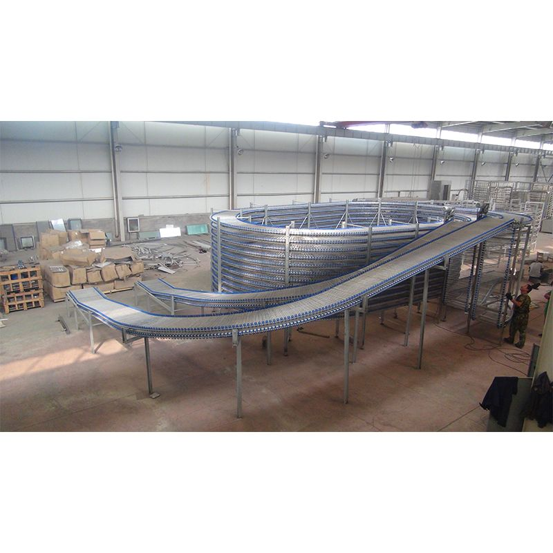 Bread Cooling Machine Spiral Cooling Tower Cooler Food Cooling