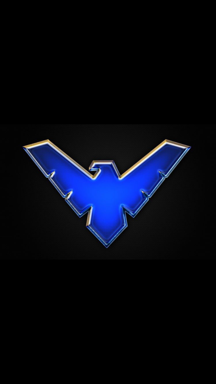 Nightwing symbol dc pinterest logos dark knight and superheroes nightwing symbol buycottarizona Choice Image