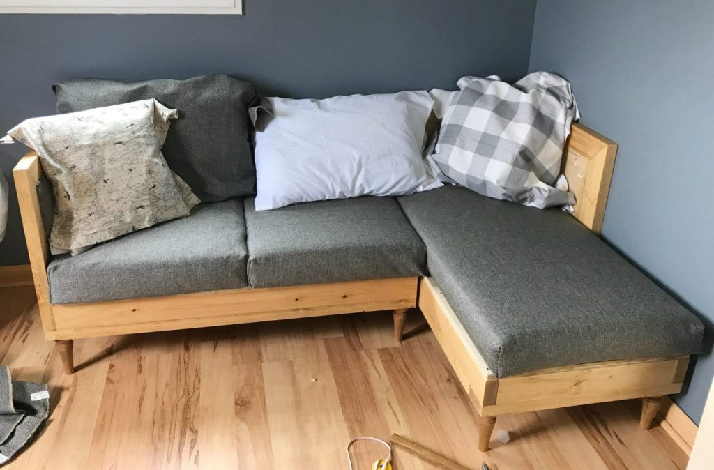 Diy Couch How To Build And Upholster Your Own Sofa Upholstered Couch Diy Couch Cushions Diy Couch
