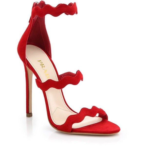 strappy sandals - Red Prada Outlet New Arrival Discount Extremely YZmRNjUn