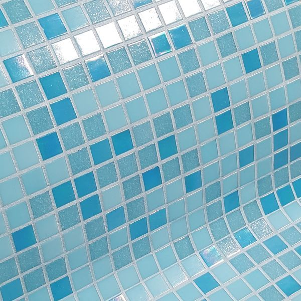 P tes de verre cara be mosa que piscine mosaique piscine for Piscine aquajade