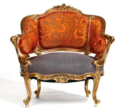 Rococo Period Chair Furniture Pinterest Barroco Decoracin