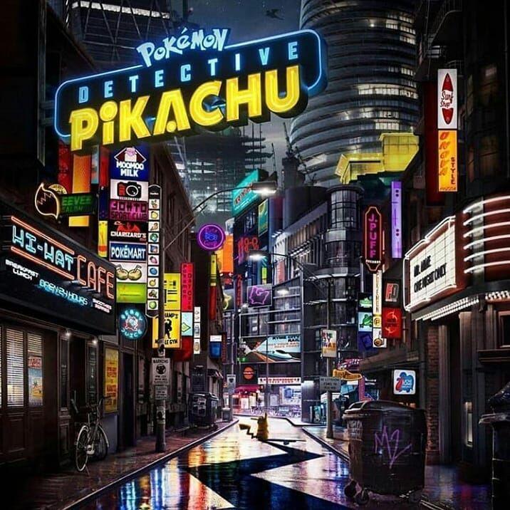 Confira O Banner Do Pokémon Detective Pikachu