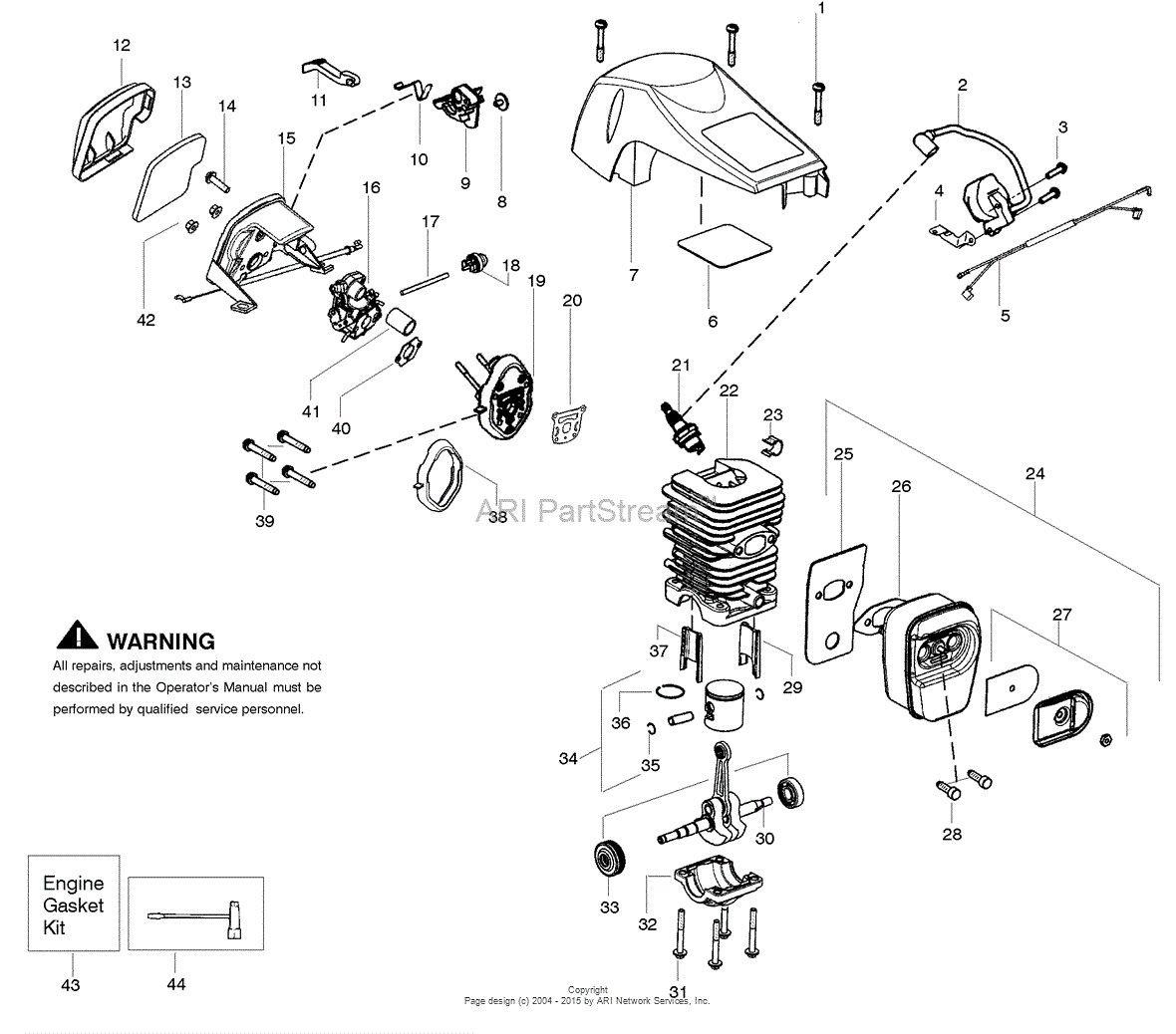 50 Poulan Pro Pp3516avx Parts Diagram Zf7r