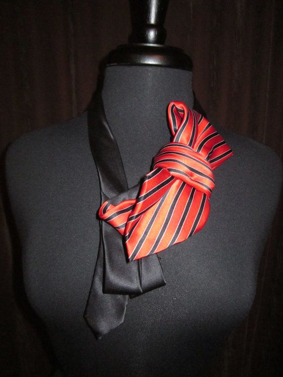 Tie Necklace by ScarlettKaysedy on Etsy, $18.00