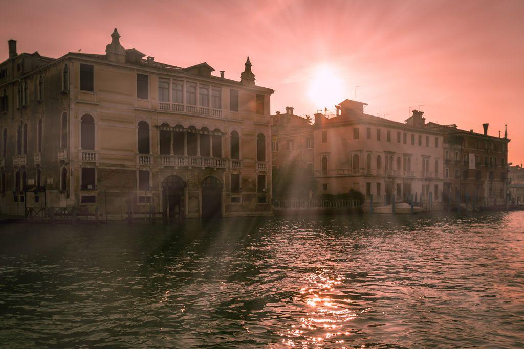 Sunrise over Canal Grande