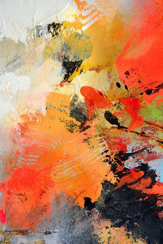 Peinture Acrylique Abstraite Peinture Acrylique Abstraite